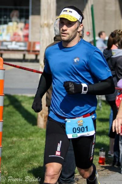 Demi-marathon des érables 2013 - Sean Lajeunesse